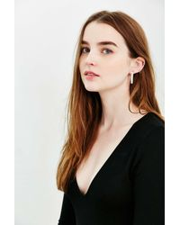Urban Outfitters | Metallic Front/back Matchstick Post Earring | Lyst