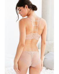 Urban Outfitters - Multicolor Tina Lace Ladder Back Molded Cup Bra - Lyst