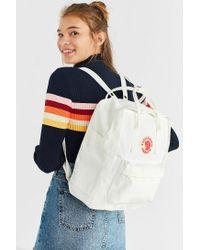 Fjallraven White X Uo Kanken Backpack