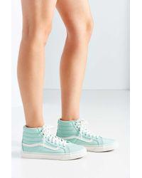Vans - Green Pastel Sk8-hi Sneaker - Lyst