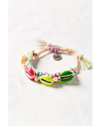 Venessa Arizaga - White Shell We Dance Bracelet - Lyst