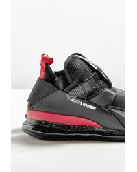 PUMA - Black X Mcq By Alexander Mcqueen Cell Mid Sneaker for Men - Lyst