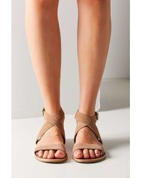 Urban Outfitters Multicolor Louie Suede Ankle Wrap Sandal