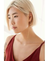 Urban Outfitters | Metallic Maggie Delicate Front/back Earring | Lyst