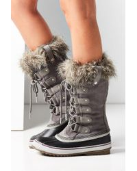 Sorel - Gray Joan Of Arctic Boot - Lyst