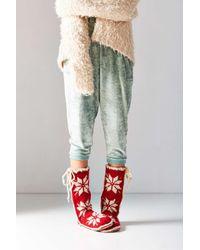 Woolrich | Red Chalet Slipper | Lyst
