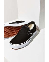 Vans   Black Classic Slip-on Sneaker   Lyst