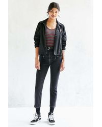 BDG - Multicolor Black Denim Jacket - Womens Xs - Lyst