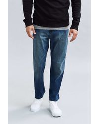 Calvin Klein | Blue Cove Wash Relaxed Fit Jean for Men | Lyst