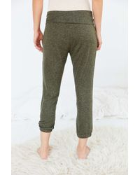 Out From Under - Green Jersey Jogger Pant - Lyst