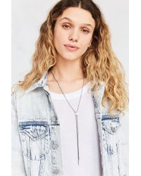 Urban Outfitters - Metallic Austin Simple Bolo Lariat Necklace - Lyst