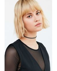 Urban Outfitters | Metallic Studded Choker Necklace | Lyst