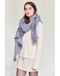 Urban Outfitters | Multicolor Nubby Oversized Blanket Scarf | Lyst