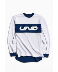 Undefeated | White Pique Long Sleeve Jersey for Men | Lyst