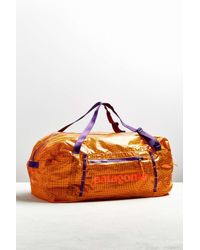 Patagonia | Orange Lightweight Black Hole 45l Duffle Bag for Men | Lyst