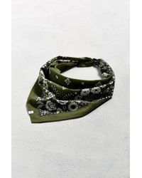 Urban Outfitters - Green Uo Floral Paisley Bandana - Lyst