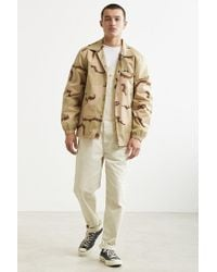 BDG - Natural Dense Cotton Canvas Overall for Men - Lyst