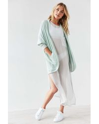 Silence + Noise | Gray Bobby Cozy Cocoon Cardigan | Lyst