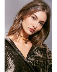 Urban Outfitters | Metallic Forever + Always Choker Necklace | Lyst