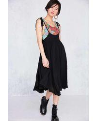 Kimchi Blue | Black Lemon Meringue Jumper Midi Skirt | Lyst