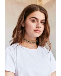 Urban Outfitters | Multicolor Pacey Rainbow Hemp Choker Necklace | Lyst