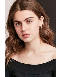 Urban Outfitters | Metallic Fleur Heart Earring Set | Lyst