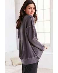 Truly Madly Deeply | Gray V-neck Pullover Sweatshirt | Lyst