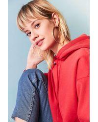 Urban Outfitters | Metallic Geri Statement Hoop Earring | Lyst