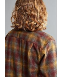 Pendleton | Brown Original Board Flannel Button-down Shirt for Men | Lyst