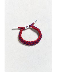 Urban Outfitters | Red Rastaclat Braid Nba Team Bracelet | Lyst