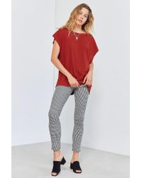 Truly Madly Deeply - Red D-ring Strap Tunic Tee - Lyst