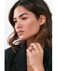 Five And Two | Metallic Jess Ring | Lyst