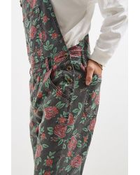 BDG - Multicolor Rose Print Overall for Men - Lyst