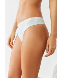 Urban Outfitters - Blue Nellie Basic Laser-cut Thong - Lyst