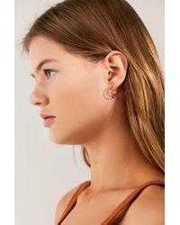 Urban Outfitters - Multicolor Moon + Stars Mini Hoop Earring Set - Lyst