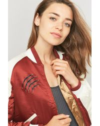 Urban Outfitters | Metallic Brass Hoop With Sterling Silver Post Earrings | Lyst