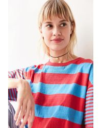 Urban Outfitters - Yellow Emma Short Beaded Choker Necklace - Lyst