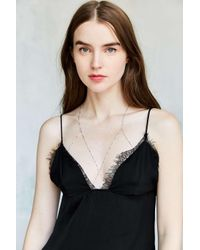 Urban Outfitters | Metallic Giselle Bra Body Chain | Lyst