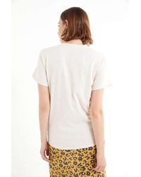 Altru - White Ink Sketch Tee - Lyst