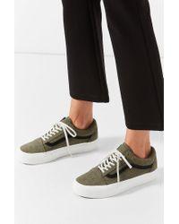 Vans - Green Vans Embossed Old Skool Platform Sneaker - Lyst