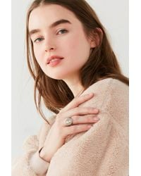 Urban Outfitters - Metallic Cat Signet Ring - Lyst
