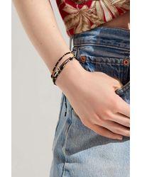 Urban Outfitters - Black Beaded Bracelet Set - Lyst