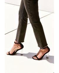Urban Outfitters | Black Mimi Velvet Heel | Lyst