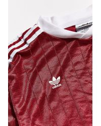 186fbcce6 Urban Outfitters Vintage Adidas Burgundy Soccer Jersey in Red for ...