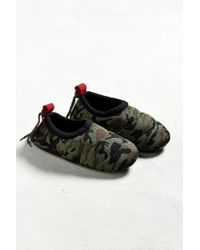 Urban Outfitters - Green Uo Knit Camo Slipper - Lyst