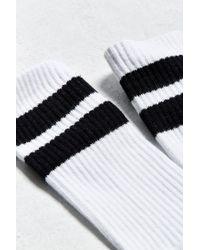 Urban Outfitters - White Sport Stripe Sock for Men - Lyst