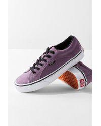 Vans - Purple Vans Suede Lampin Low Top Sneaker - Lyst