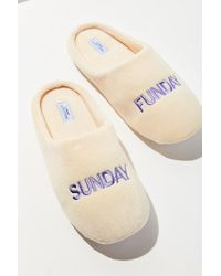 Urban Outfitters - Multicolor Uo Sunday Funday Slipper - Lyst