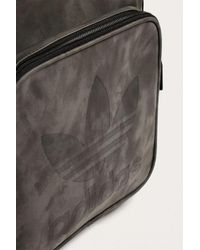 Adidas - Gray Grey Suede Backpack - Mens All for Men - Lyst