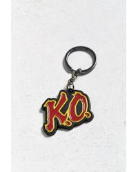 Urban Outfitters - Red Street Fighter Charm Keychain - Lyst